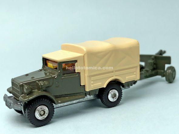 69-3 トヨタ 自衛隊トラック はるてんのトミカ