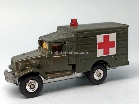 67-2 トヨタ 自衛隊救急車(HQ15V型) はるてんのトミカ