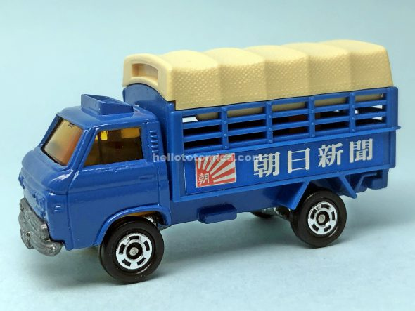 107-1 NISSAN CABALL NEWS DELIVERY TRUCK はるてんのトミカ