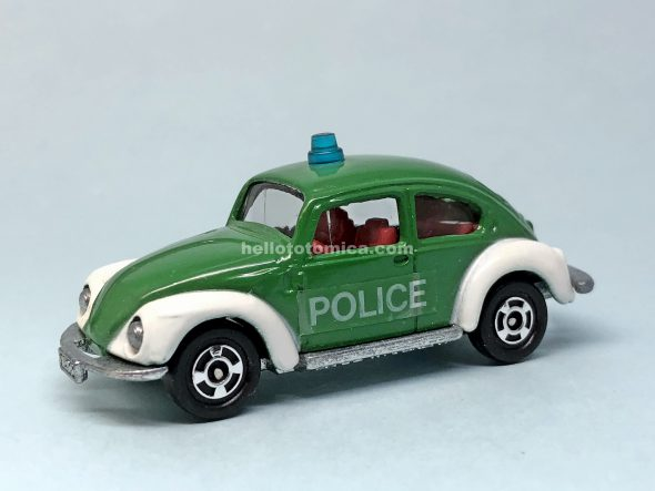 F70-1 VOLKSWAGEN POLICE CAR はるてんのトミカ