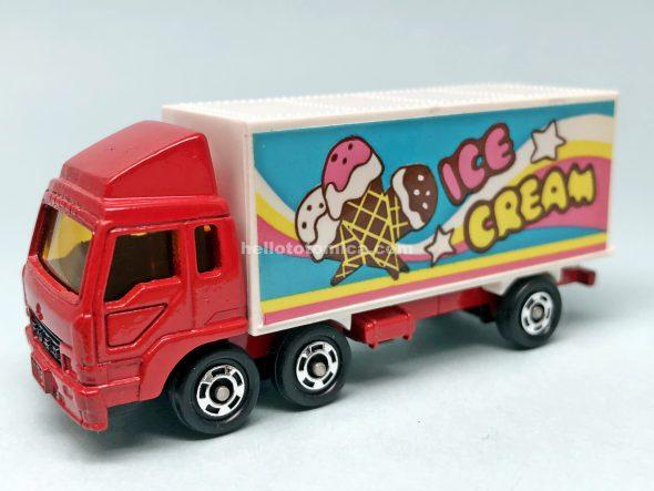 7-3 三菱ふそう 冷凍車 はるてんのトミカ
