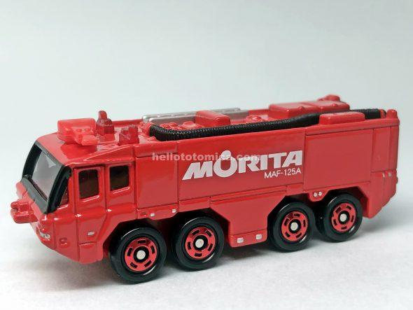 13-8 モリタ 空港用化学消防車 MAF-125A はるてんのトミカ