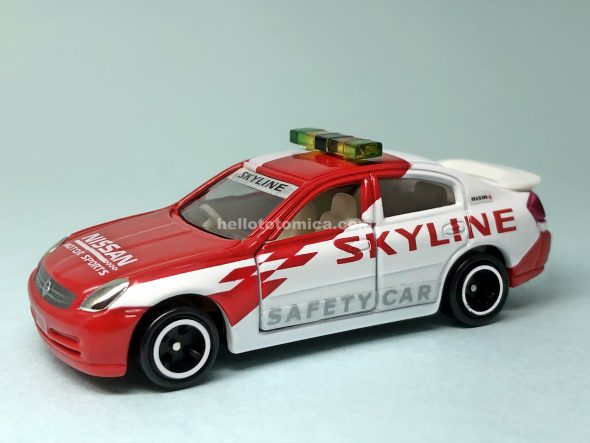 23-6 NISSAN SKYLINE SAFETY CAR はるてんのトミカ