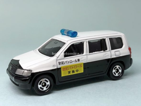 23-7 TOYOTA PROBOX VOLUNTARY SECURITY POLICE CAR はるてんのトミカ