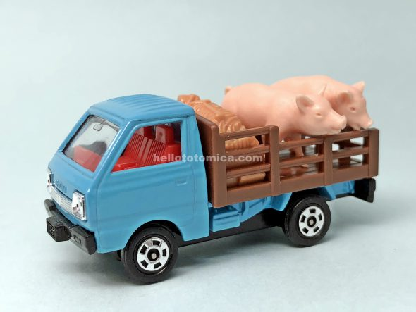39-3 SUZUKI CARRY CATTLE TRUCK はるてんのトミカ