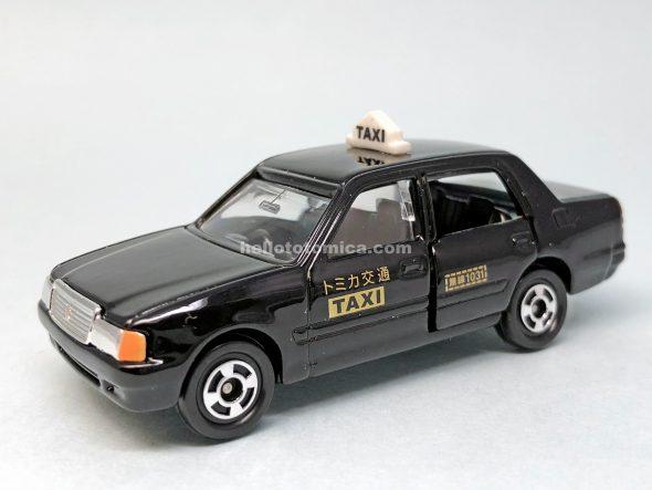 51-6 トヨタ クラウン コンフォート タクシー はるてんのトミカ