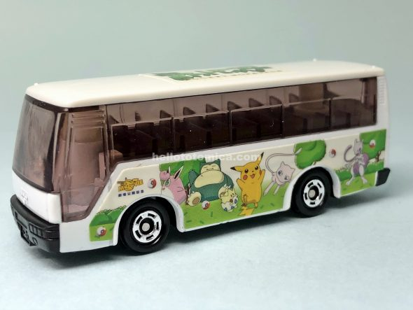 38-6 POCKET MONSTERS BUS はるてんのトミカ