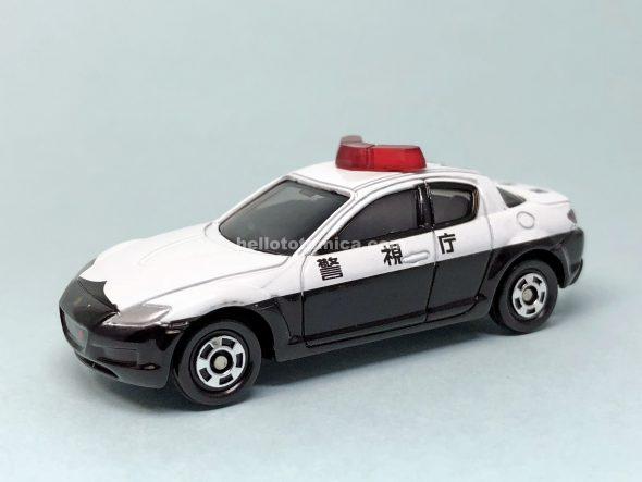 44-6 マツダ RX-8 パトロールカー はるてんのトミカ