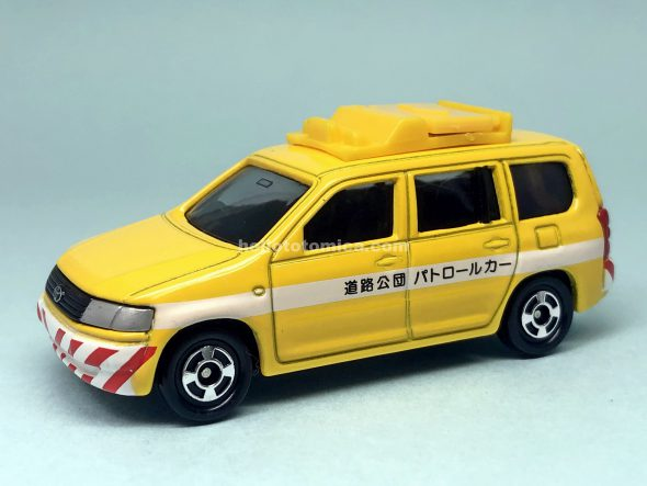 36-5 TOYOTA PROBOX HIGH-WAY PUBLIC CO. PATROL CAR はるてんのトミカ