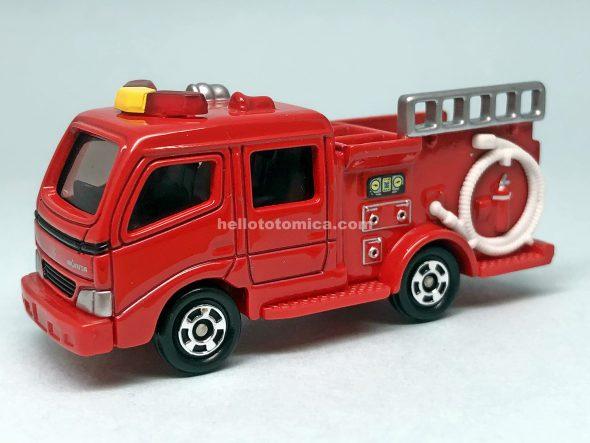 41-5 モリタ CD-I型 消防ポンプ車 はるてんのトミカ
