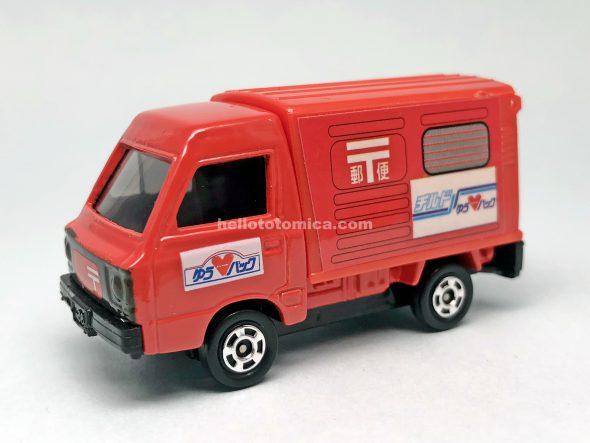 67-6 スバル サンバー 郵便車 はるてんのトミカ