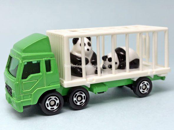 76-4 三菱ふそう 動物運搬車(パンダ) はるてんのトミカ