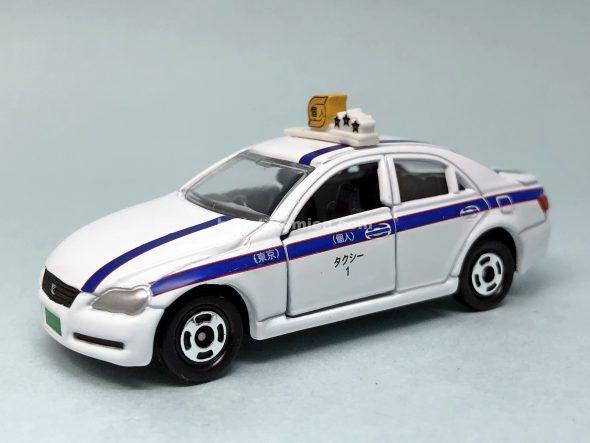 60-4 トヨタ マークX 個人タクシー はるてんのトミカ