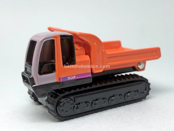 80-4 HITACHI RUBBER CRAWLER CARRIER EG110R はるてんのトミカ