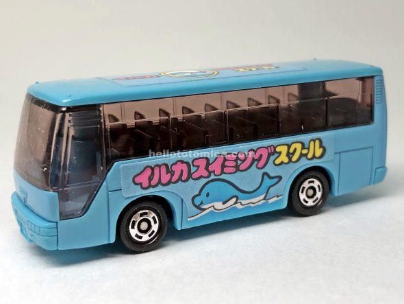 83-3 スイミング スクール バス はるてんのトミカ