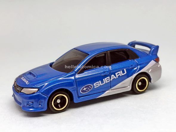7-7 SUBARU IMPREZA WRX STI 4door GROUP R4 はるてんのトミカ