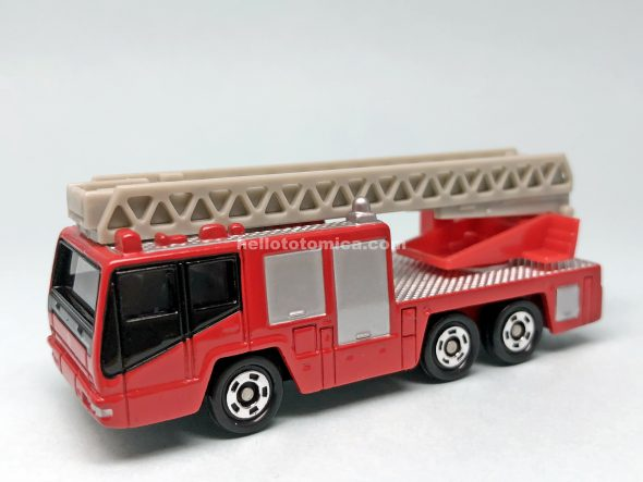 108-4 HINO AERIAL LADDER FIRE TRUCK はるてんのトミカ