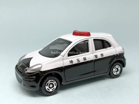 17-9 NISSAN MARCH POLICE CAR はるてんのトミカ
