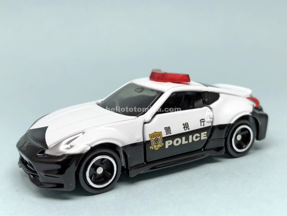 61-8 NISSAN FAIRLADY Z NISMO POLICE CAR はるてんのトミカ