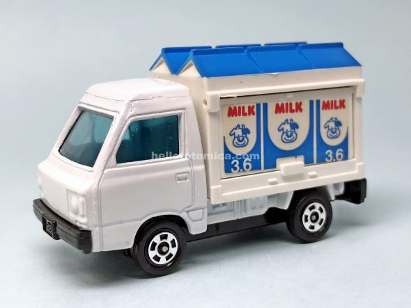 96-3 スバル サンバー牛乳屋 はるてんのトミカ