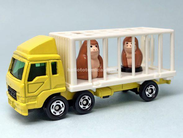 108-3 三菱ふそう 動物運搬車(ゴリラ) はるてんのトミカ