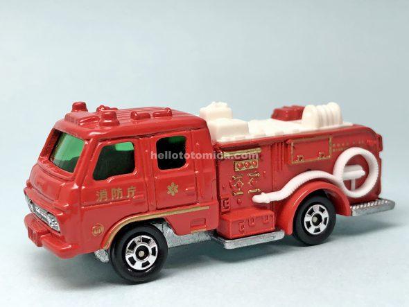 110-2 ニッサンディーゼル ポンプ消防車 はるてんのトミカ