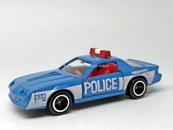 114-1 CHEVROLET CAMARO POLICE CAR はるてんのトミカ