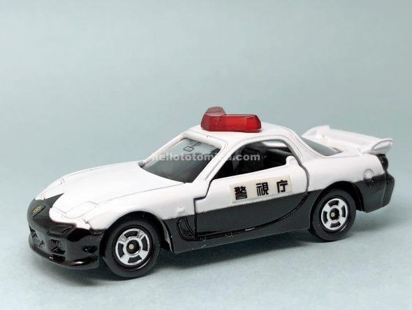 117-3 マツダ RX-7 パトロールカー はるてんのトミカ