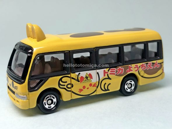 118-2 TOYOTA COASTER KINDERGARTEN BUS はるてんのトミカ