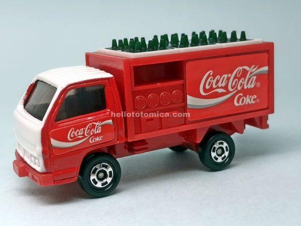 105-3 コカコーラ ルートトラック はるてんのトミカ