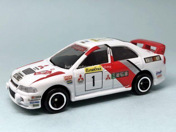 104-3 三菱ランサーエボリューションIV WRC はるてんのトミカ