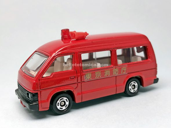 119-2 TOYOTA HIACE FIRE CHIEF CAR はるてんのトミカ