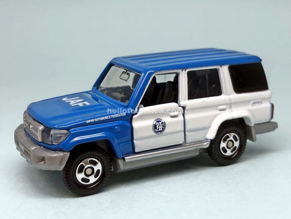44-9 Toyota LAND CRUISER JAF ROAD SERVICE CAR はるてんのトミカ