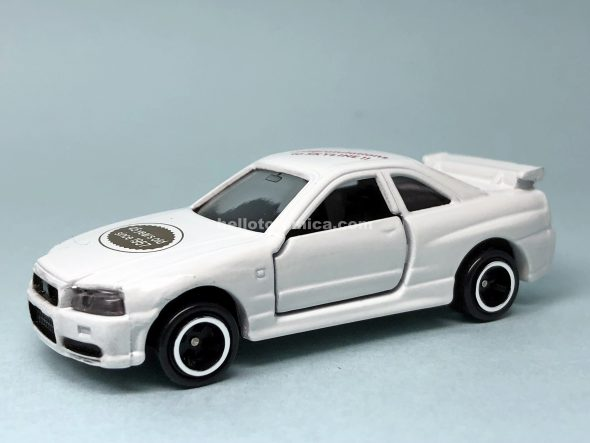 20-8 SKYLINE GT-R R34 45th anniversary はるてんのトミカ