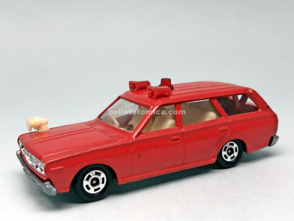 78-1 DATSUN CEDRIC WAGON FIRE CHIEF CAR はるてんのトミカ