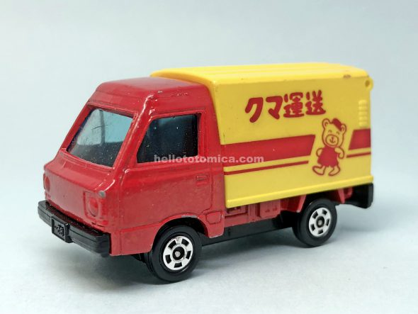 31-3 SUBARU SANBER HIGH ROOF PANEL VAN はるてんのトミカ
