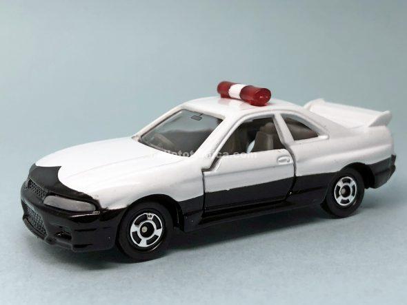20-7 スカイライン GT-R R33 パトカー はるてんのトミカ