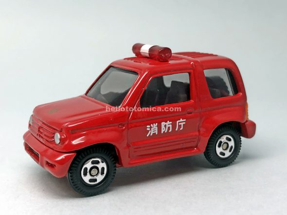 112-2 MITSUBISHI PAJERO Jr. FIRE CHIEF はるてんのトミカ