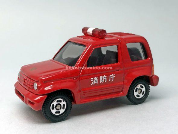 112-2 三菱 パジェロ Jr. 消防指揮車 はるてんのトミカ