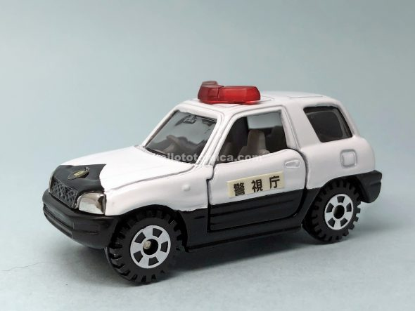 24-5 トヨタ RAV4 パトロールカー はるてんのトミカ