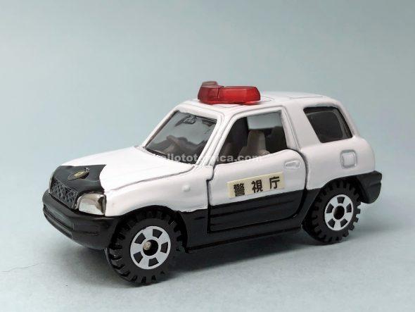 24-5 TOYOTA RAV4 PATROL CAR はるてんのトミカ