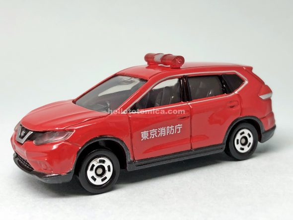 1-6 NISSAN X-TRAIL FIRE CHIEF CAR はるてんのトミカ