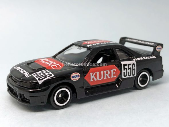 40-4 SKYLINE RACING KURE R33 '97 はるてんのトミカ