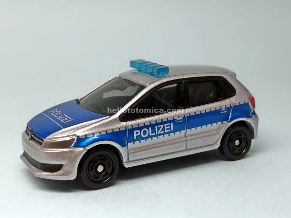 109-7 VOLKSWAGEN POLO POLICE CAR はるてんのトミカ