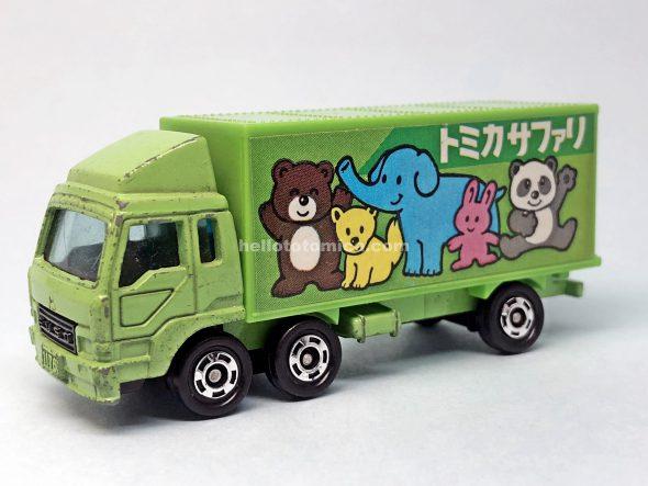 7-3 MITSUBISHI FUSO REFRIGERATOR CAR はるてんのトミカ