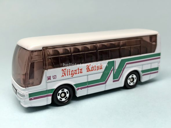 1-4 三菱ふそう エアロクイーン 新潟交通観光バス はるてんのトミカ