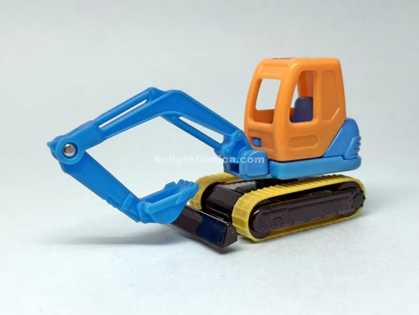 103-3 KOMATSU MINI POWER SHOVEL PC45 はるてんのトミカ