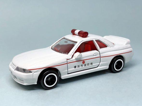 20-6 スカイライン GT-R R32 救急車 はるてんのトミカ