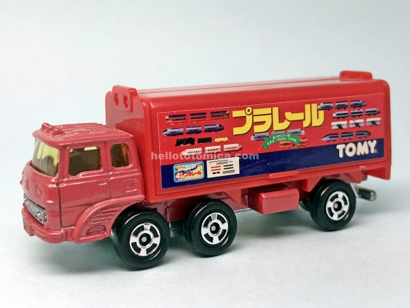 76-3 MITSUBISHI FUSO WING ROOF TRUCK はるてんのトミカ