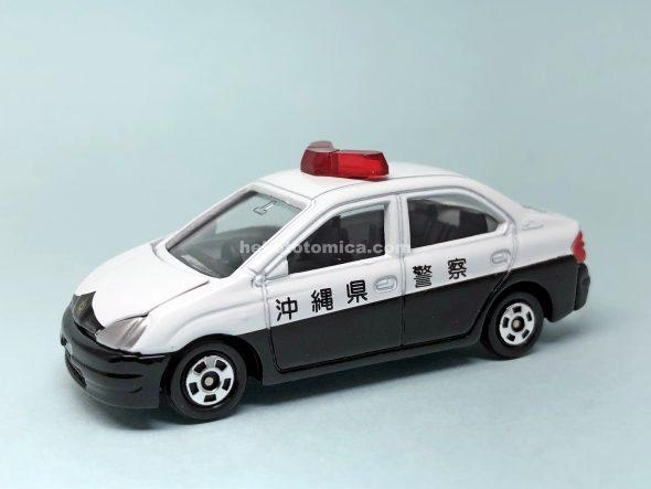 86-3 トヨタ プリウス パトカー 沖縄県警 はるてんのトミカ